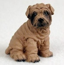 SHAR PEI TINY ONES DOG Figurine Statue Pet Lovers Gift Resin sharpei - $9.99