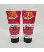 2X SJ Clinicals Hyaluronic Acid & Grapefruit Facial Scrub 6oz each - $26.95