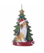 Shetland Sheepdog w/Tree Ornament - $14.95