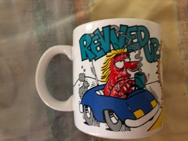 """Vintage 1988 Applause Three Cheers MUG """"Revved Up...And Ready To Fly!"""" c... - $15.83"""