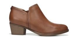 Women's Naturalizer Zarie Block Heel Saddle Tan Bootie Shootie, Size 11 ... - $108.85