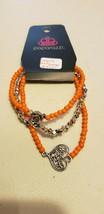 Paparazzi Bracelet (New) Lover's Loot Orange #0021 - $7.61