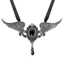 Alchemy Gothic P767  My Soul from the Shadow Necklace Pendant - $74.22