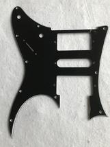 3 Ply Black Custom Guitar Pickguard For Gibson 76 Explorer Re-Issue Style Blank