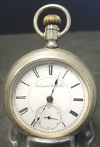 1887 Hampden OF 18S 7J  Pocket Watch Serial# 492757 - $71.24