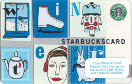 Starbucks 2008 Memories Of The Season Collectible Gift Card New No Value - $4.99