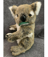 "Vintage 2000 Animal Planet Plush Koala With Leaf In Mouth 12"" Stuffed Toy - $10.99"