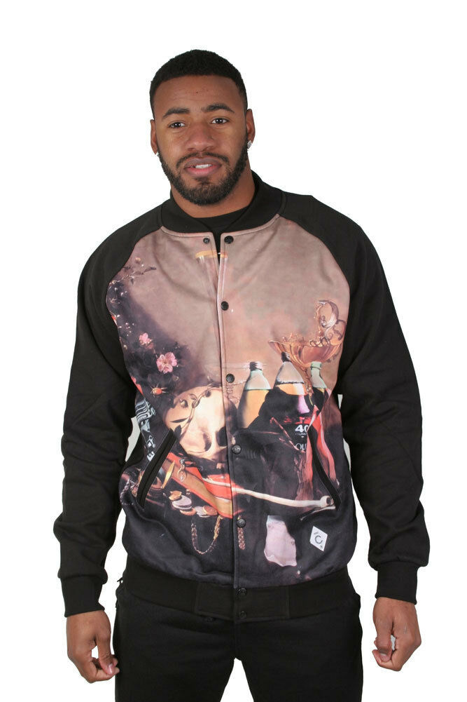 Crooks & Castles Filcher Knit Baseball Jacket