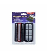 Red by Kiss Detangler Pik 2 Piece Comb Set Fine-Tooth Attachment for BD0... - $4.94