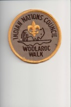 Indian Nations Council Woolaroc Walk patch - $4.16