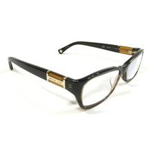Michael Kors MK252 204 Sunglasses Eyeglasses Frames Oval Dark Brown Crystal 130 - $37.40