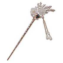 Classical Retro Hair Decor Hair Stick Hairpin Elegant Traditional Hair Clip With - $13.81