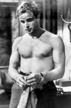 Marlon Brando in A Streetcar Named Desire iconic bare chested hunky pin up photo - $23.99