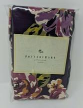 Pottery Barn Pillow Sham Standard New Purple Floral Flowers 100% Cotton Israel - $29.69