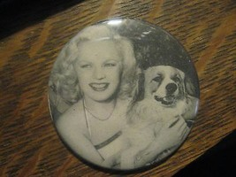 June Haver Movie Star 1948 Friskies Dog Food Advertisement Lipstick Mirror - $19.73