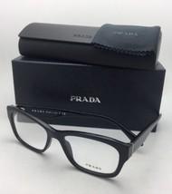 Nuevo Prada Gafas Vpr 24r 1ab-1o1 52-16 140 Negro Brillante Monturas con / - $219.52