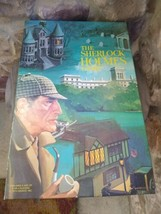 "Vintage Cadaco ""The Sherlock Holmes"" Board Game 1974 - $49.99"