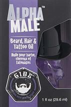 GIBS Grooming Alpha Male Beard Hair & Tattoo Oil, 1 fl. oz. image 3