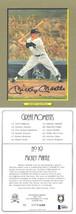Mickey Mantle signed Perez-Steele Great Moments Card #2 LTD- Beckett Hol... - $378.95
