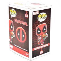 Funko Pop! Marvel Christmas Holiday Deadpool Supper Hero #534 Vinyl Bobble-Head image 4