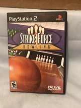 Strike Force Bowling (Sony PlayStation 2, 2004) Complete Free Shipping - $9.89