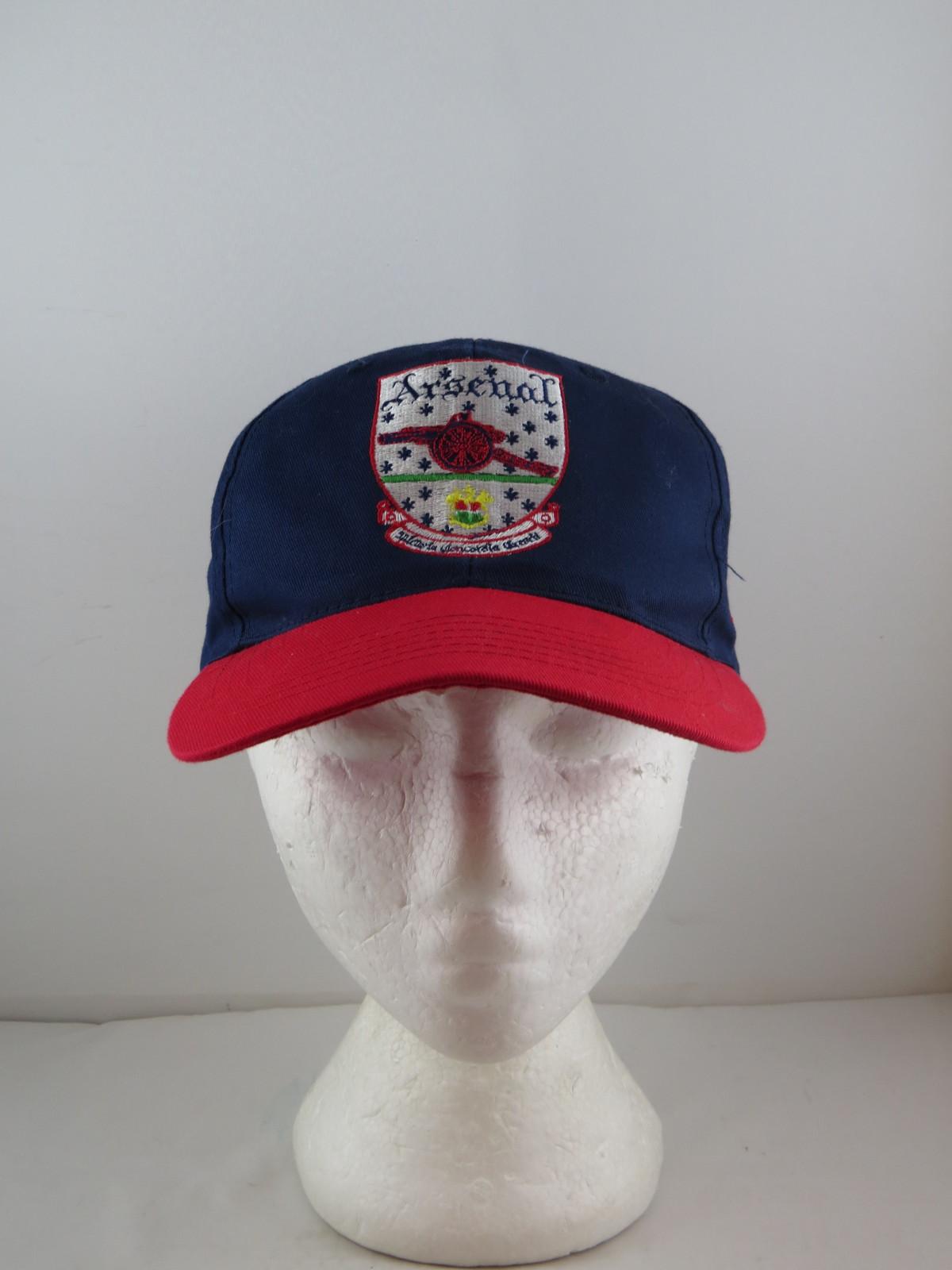 Vintage Arsenal Gunners Hat - Vintage Gunners Crest - Adult Snapback