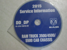 2015 Dodge RAM TRUCK 3500 4500 5500 Cab Chass Service Information Repair Manual - $197.99