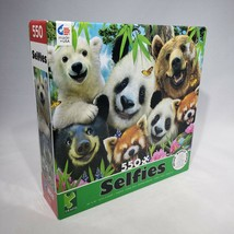 CEACO Bear Selfies Jigsaw Puzzle 550 Piece Open Box 42323 Factory Sealed... - $12.95