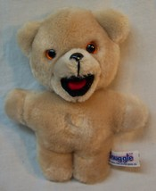 "Russ VINTAGE SNUGGLE THE TAN TEDDY BEAR 6"" Plush Stuffed Animal TOY - $18.32"