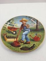 "Danbury Mint ""Saturday's Child"" Children of the Week Plate Gignilliat Ar... - $12.19"