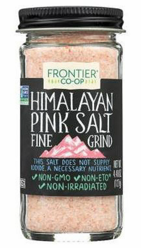 Primary image for Frontier Co Op, Himalayan Pink Salt, Fine Grind, 4.48oz, KSA kosher non GMO
