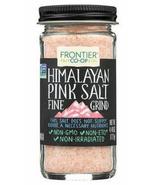 Frontier Co Op, Himalayan Pink Salt, Fine Grind, 4.48oz, KSA kosher non GMO - $9.99