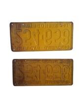 1941 Wisconsin License Plate Set Americas Dairyland image 2