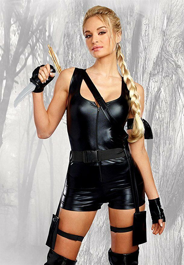 Dreamgirl Mighty Raider Laura Croft Tomb Raider Womens Halloween Costume 10657