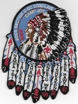 2008 Section C-5C Concalve Camp Joy OA patch - $7.92