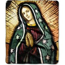 "The Northwest Company Blessed Virgin Mary 50 x 60"" Heartland Plush Throw... - $29.69"