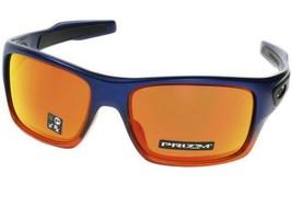 Oakley Turbine Sunglasses OO9263-4463 Orange Pop Fade W/ Prizm Ruby Iridium Lens - $84.14