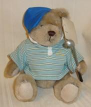 "Dan Dee Collector's Choice 6"" Li'l Dress Up Boy Bear Golf Teddy Bear Cute! - $8.90"