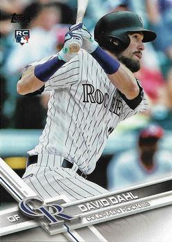 Primary image for 2017 Topps David Dahl Rookie Card # 306