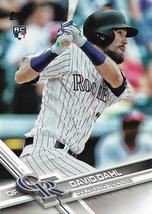 2017 Topps David Dahl Rookie Card # 306 - $2.99
