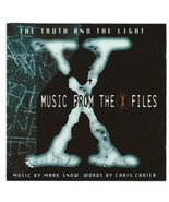 Truth And Light CD Music From X-Files Mark Snow Chris Carter Warner 1996 - $16.95