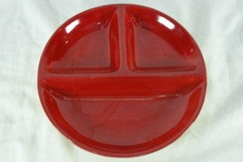 Tabletops Unlimited Kitchen Prep Red #201 3 Part Relish Dish - $4.84