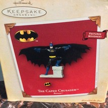 The Caped Crusader Batman Dc Comics Hallmark Christmas Ornament - $15.25