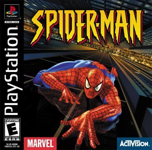 Spider-Man PS1 Great Condition Fast Shipping