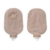 "New Image 2-Piece Urostomy Pouch 1-3/4"", Beige. - 10 Each / Box - $39.59"