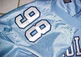 Lawrence Taylor #58 North Carolina Tar Heels NCAA ACC Blue Throwbacks Jersey XL image 3