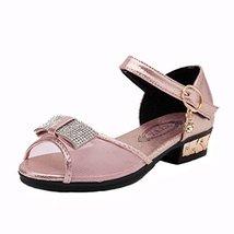 Female Shoes Bow Mesh Sandals Toe Rhinestone Little Princess Shoes image 2