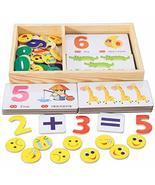 DANNI Montessori Early Educational Math Teaching Toys Wood Mathematics M... - $20.17