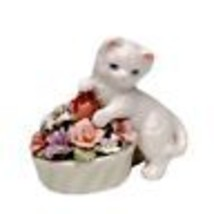 Kitten With Flowers Pot - $19.14 CAD