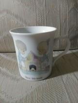 Precious Moments Bless This House Coffee Mug 1984 Enesco Jonathan & David - $26.72